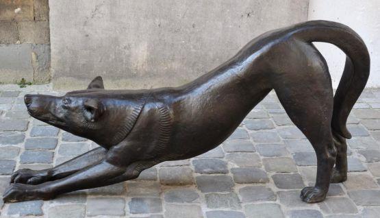 Бронзовая статуя. Talmar, 1954 г.