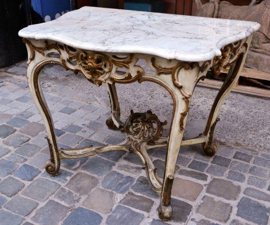 Консольный столик. Италия, XVIII век