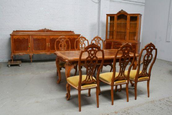 Гарнитур для столовойв стиле Людовика XV