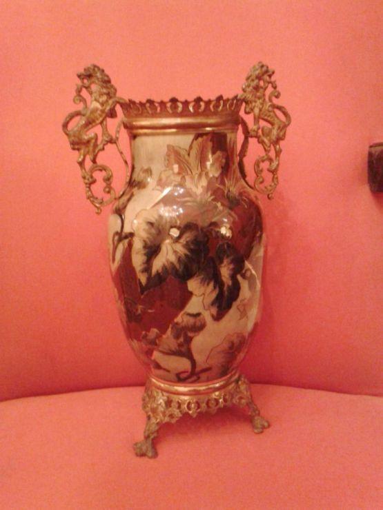 Фарфоровая ваза в стиле Наполеона III, XIX в.