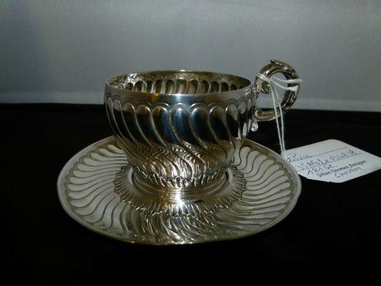 Серебряная чашкаChevroy