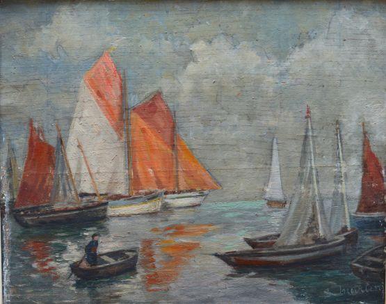 Морской пейзаж. С. Мартин, Франция, XIX в.
