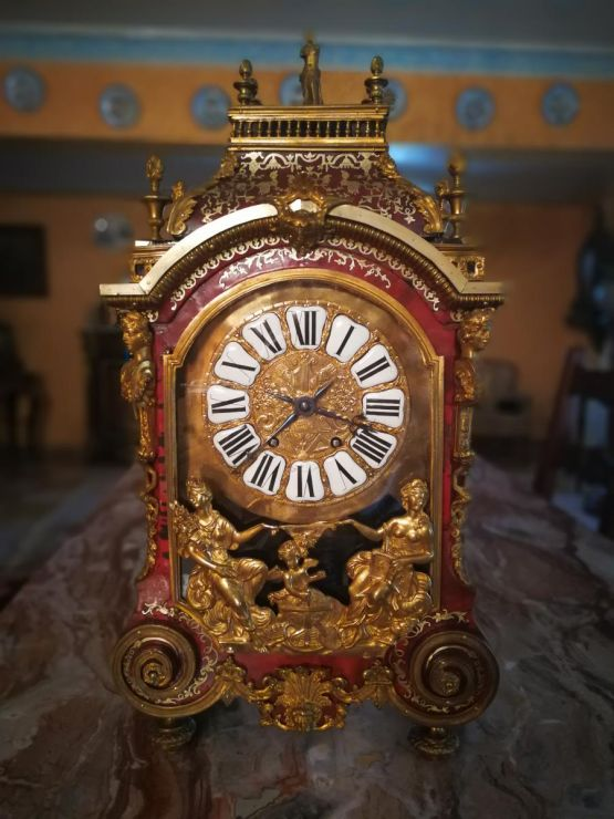 Часы-картель эпохи Людовика XIV, XVIII в.