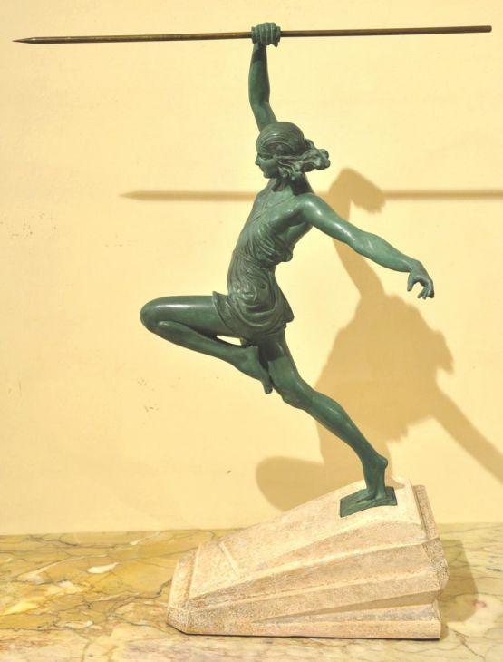 'Амазонка с копьем'. Pierre Le Faguays, 1930 г.