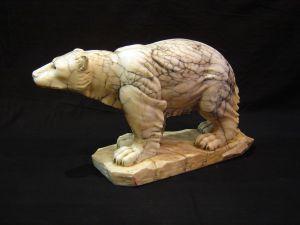 Скульптура полярного медведя, XX в.