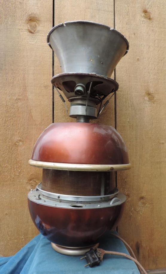 Лампа из радио, ХХ в.
