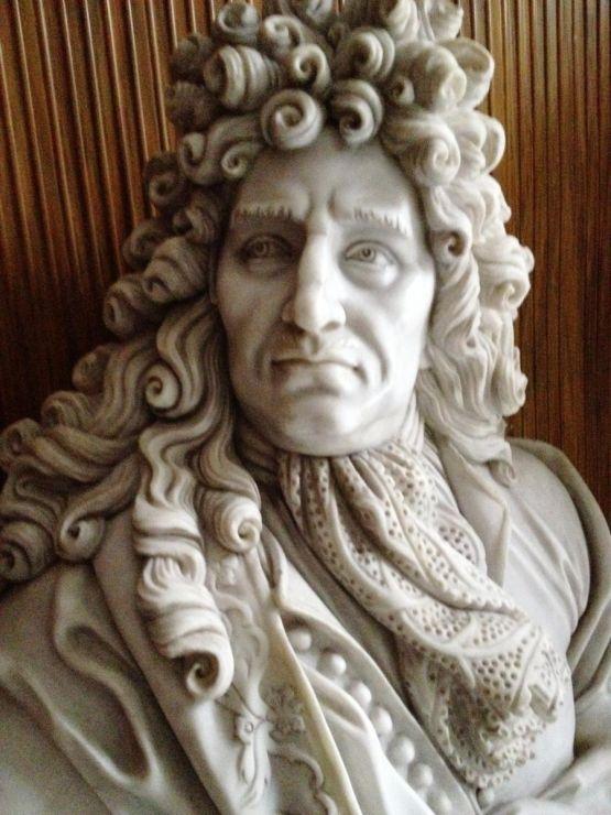 Бюст Людовика XIV 'Король-солнце', XIX в.