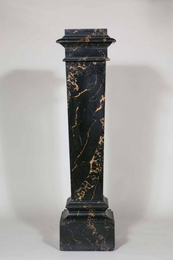 Терракотовый пьедестал в стиле Наполеона III, XIX