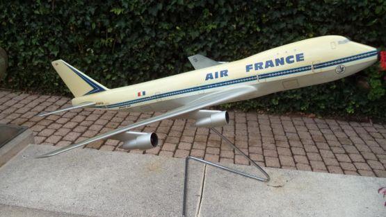 Модель самолета Боинг-747, ХХ в.