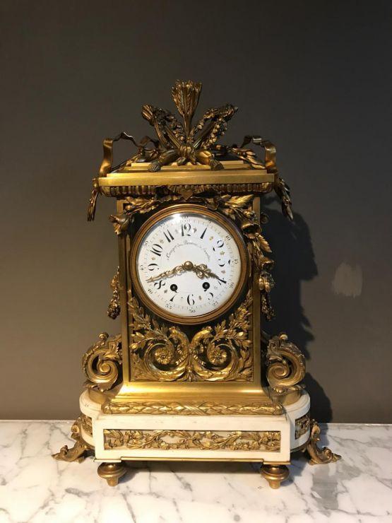 Часы. Comapagnie Brussels Bronzes, XIX в.