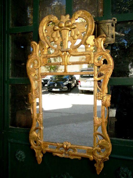 Французское зеркало, XVIII в.