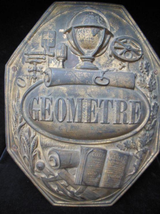 Знак геодезиста, XIX в.