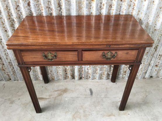 Старинный раскладной стол из палисандра