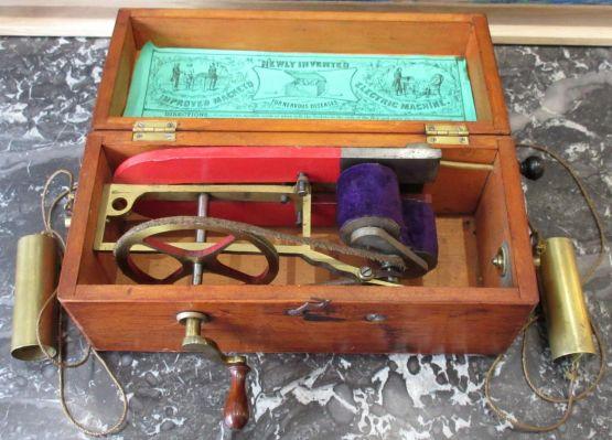 Медицинское магнитоэлектрическое устройство, 1880