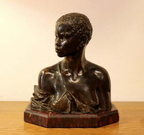 Скульптура из бронзы и мрамора