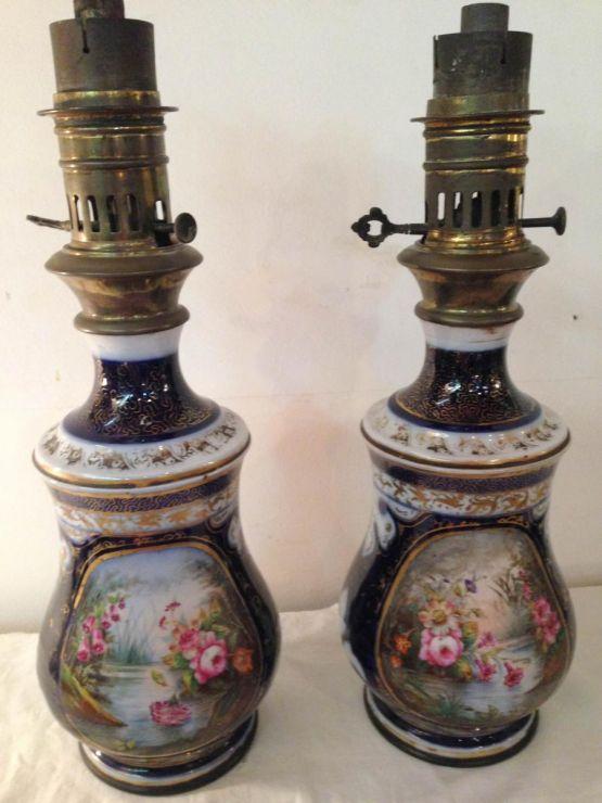 Масляные лампы, Bayeux Valentine, XIX в.