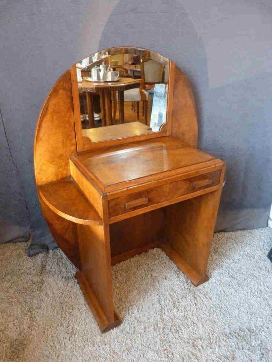 Туалетный столик из ореха в стиле Ар-Деко, ХХ в.