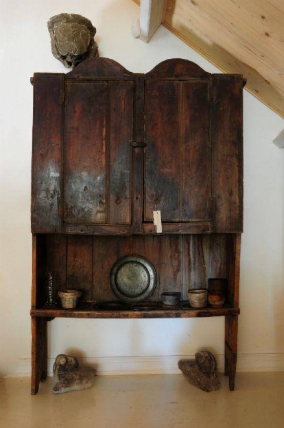 Кухонный буфет из ореха. Испания, около 1800 г.