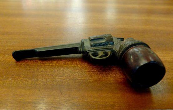 Курительная трубка, бакелит, XIX в.