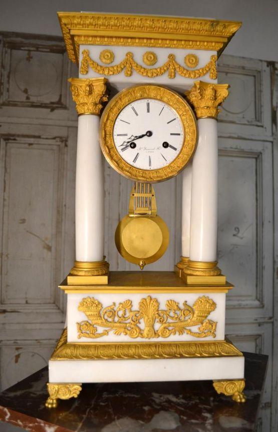 Часы-портик эпохи Реставрации, XIX в.