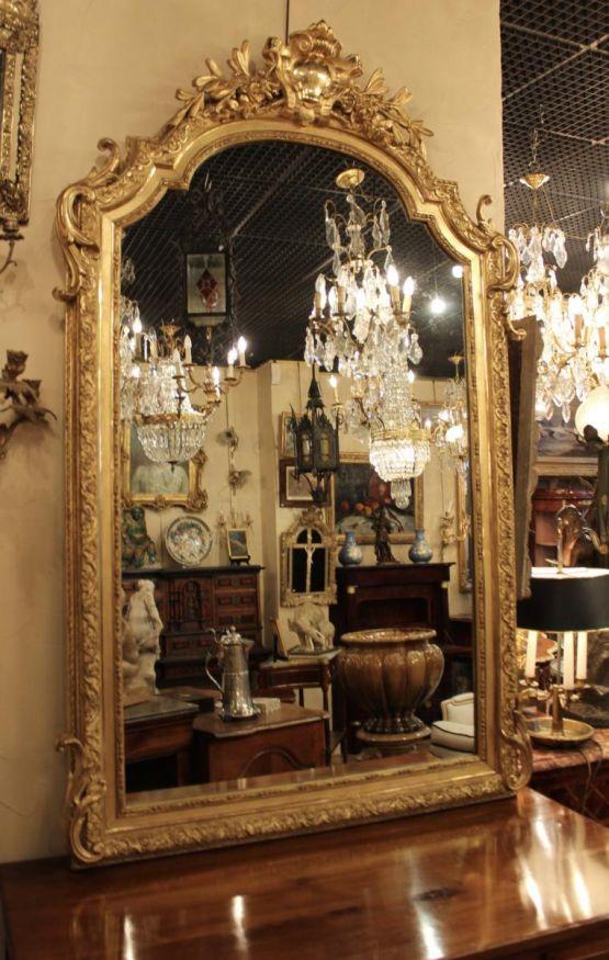 Зеркало в стиле Людовика  XV, XIX в.