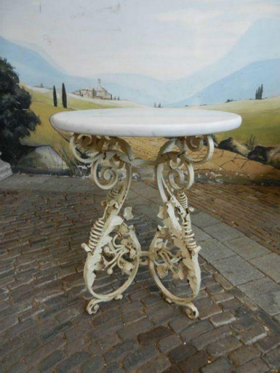 Винтажный садовый стол