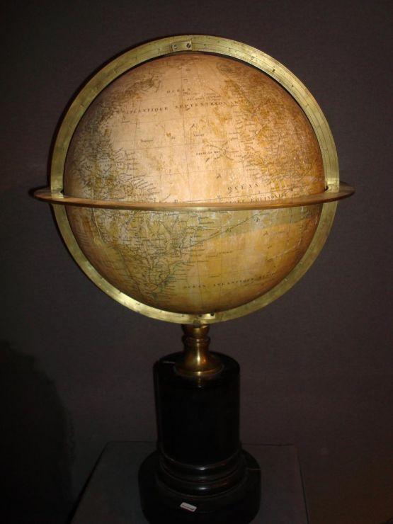 Глобус. Шарль Дьен, 1840 г.