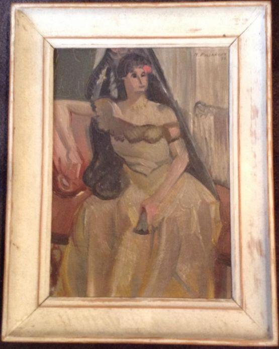 Портрет женщины. Николай Поляков, 1935 г.