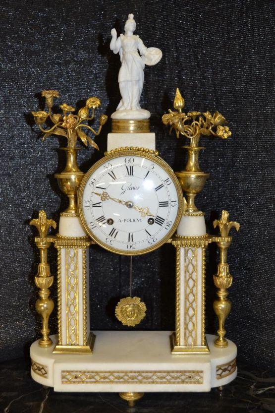 Музыкальные часы-портик в стиле Людовика XVI, XVII