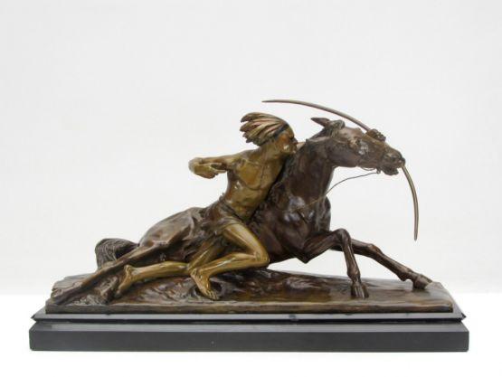 Бронзовая статуя, Эдуард Друо