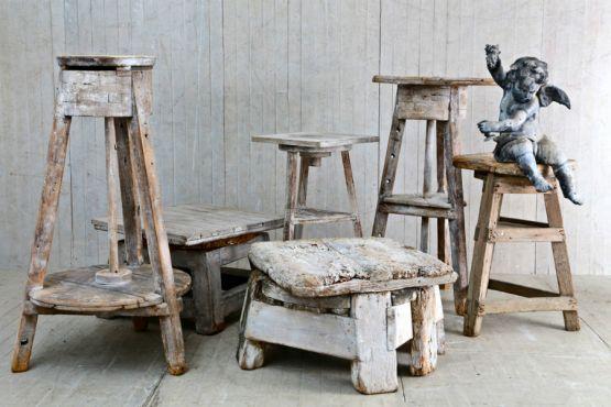 Набор подставок для скульптур