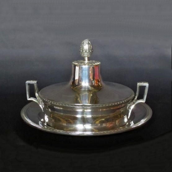 Серебряная миска для овощей,  XIXвек