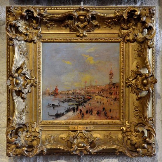 'Венеция'. Edouard Dufeu (1840-1900)