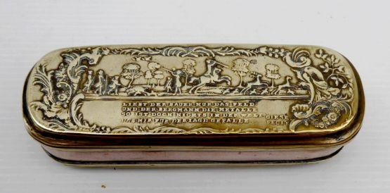 Табакерка, J.H.Giese, Германия, XVIII В.