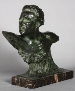 Бюст Жана Мермоза. Frеdеric Focht, 1925-1930 гг.