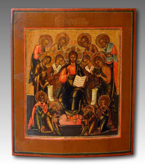 Икона 'Деисус', XVIII в.