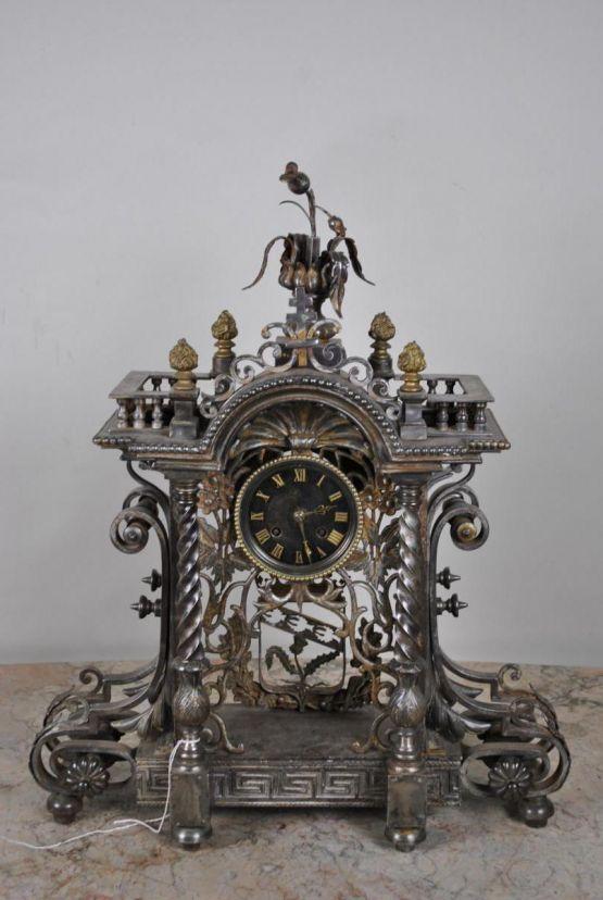 Часы из кованого железа. Нанси, XIX в.