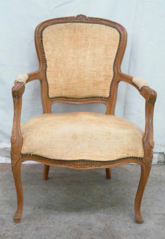 Кресло в стиле Людовика XV