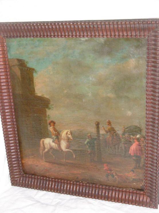 'Кавалерийская школа'. Голландия, XVII в.