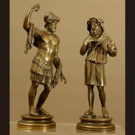 Статуи двух античных богов, XVIII в.