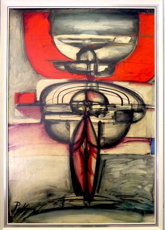 'Красная абстракция'. Franz Priking, XX в.
