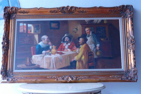 Картина в позолоченной раме