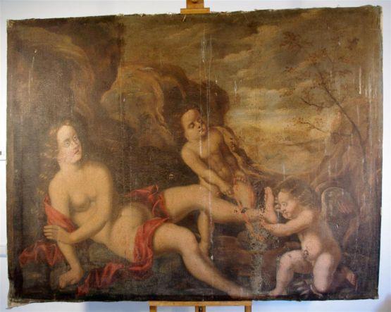 'Венера с Купидонами', XVII в.