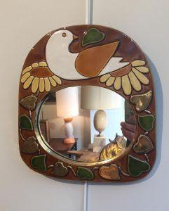 Керамическое зеркало, 1970-ые гг.