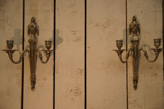 Два бра в стиле Людовика XVI, XIX век