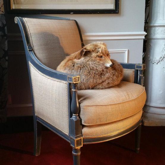 Кресло-бержер в стиле эпохи Директории, конец XIX