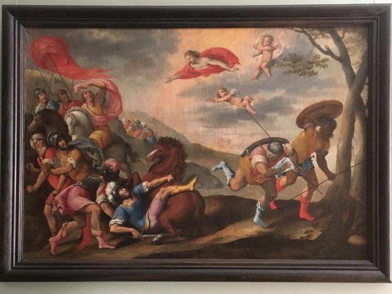 'Обращение Святого Павла',  около 1600 г.