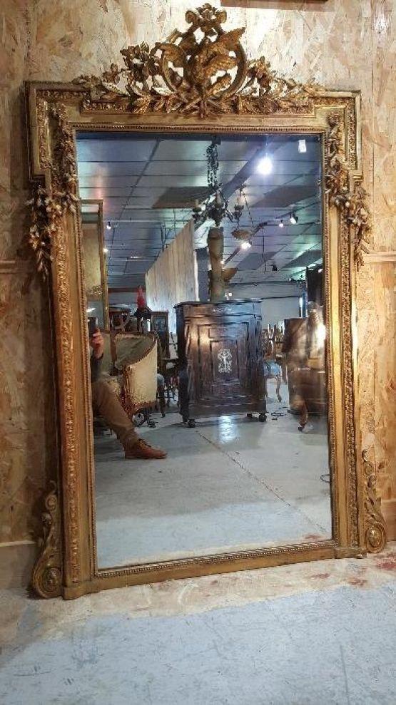 Зеркало в стиле Людовика XVI