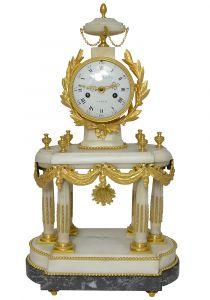 Часы-портик. Audibert, 1780 г.