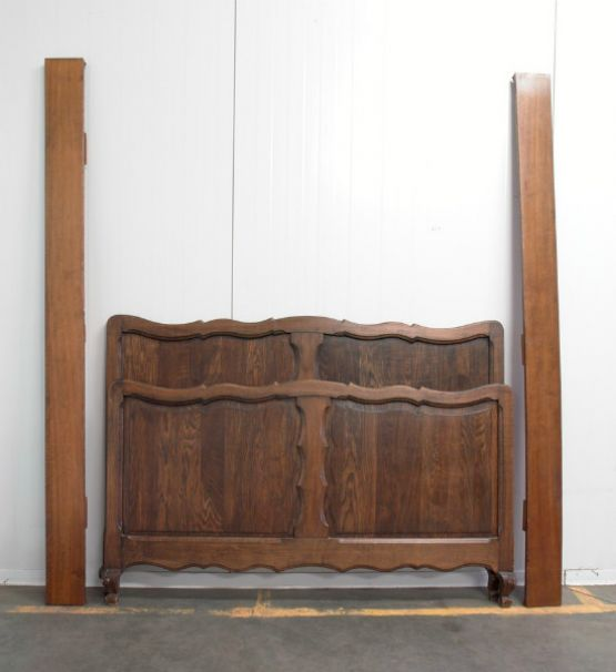 Кровать из массива дуба, Людовик XV